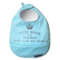 Elodie Details Blue Eat Sleep Repeat Bib