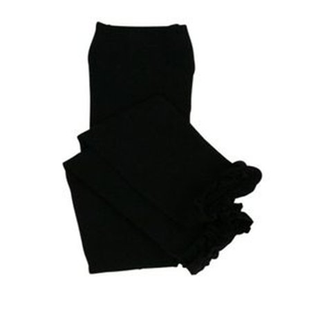 Rufflebutts Black Ruffled Tights/Leggings