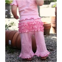 Rufflebutts Pink Ruffled Trousers
