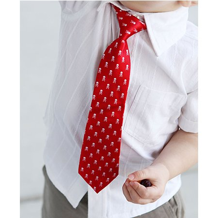 Rugged Butts Red Skull Tie