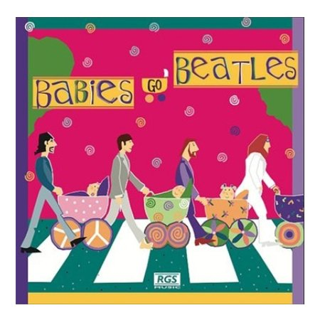 Babies Go baby music Cds Beatles remastered lullaby renditions music CD
