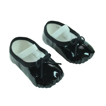 Baby Bloch Black Patent Ballerina Shoes