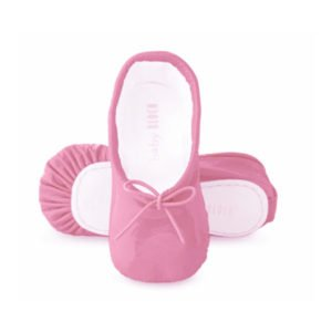 Baby Bloch Bright Pink Patent Ballerina Shoes