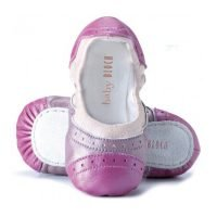 Baby Bloch Brocade Pink Ballerina Shoes