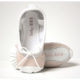 Baby Bloch Pink And White Patent Ballet Style Shoes