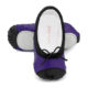 Baby Bloch Purple & Black Patent Ballet Shoes