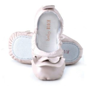 Baby Bloch Pink Frill Ballerina Style Shoes