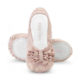 Baby Bloch Pink Ruffle Shimmer Ballet Shoes