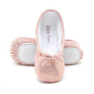 Baby Bloch Pink Shimmer Ballerina Shoes