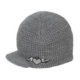 Born To Love Clothing Grey Beanie Hat