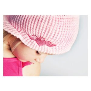 Born To Love Clothing Pink Beanie Hat