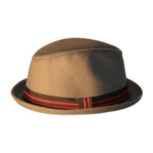 Born To Love Clothing Tan Fedora Hat