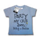 Dirty Fingers Party My Crib 2am Blue T Shirt