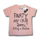 Dirty Fingers Party My Crib 2am Pink T Shirt