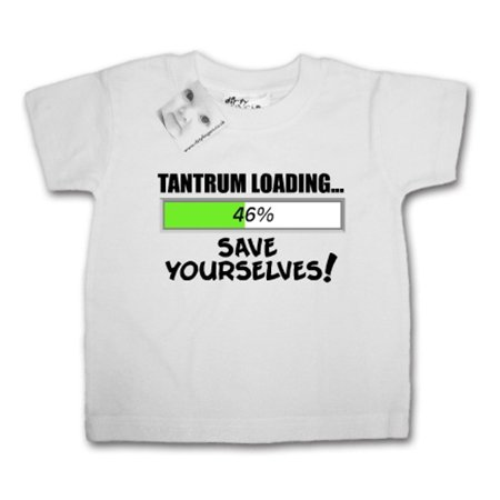 Dirty Fingers Tantrum Loading Save Yourselves Tee