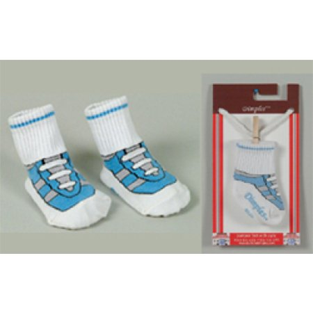 Dolly & Dimples Trainer Blue Sock