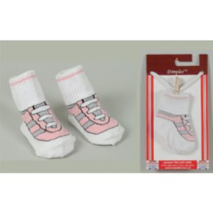 Dolly & Dimples Trainer Pink Sock