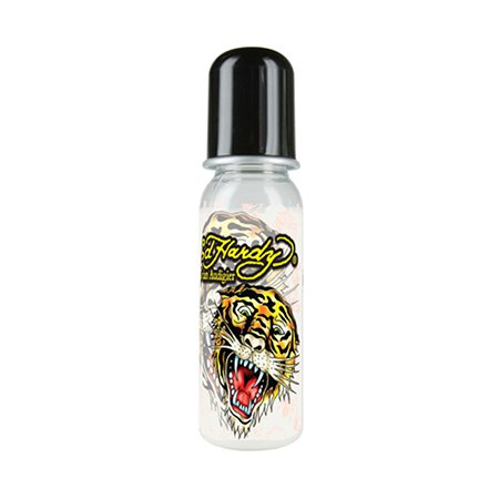 Ed Hardy Black Tiger Tattoo Design Bottle
