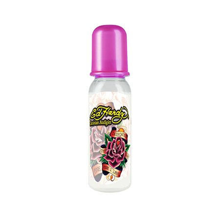 Ed Hardy Pink Dedicated Tattoo Design Bottle