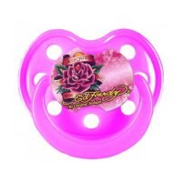 Ed Hardy Pink Flower Tattoo Design Pacifier