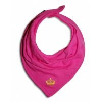 Elodie Details Pink Crown Cloth Dry Bib