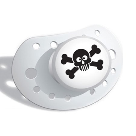 Elodie Details White Skull and Crossbone Dummy