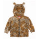 Oh Baby London Leopard Hooded Sweater With Ears