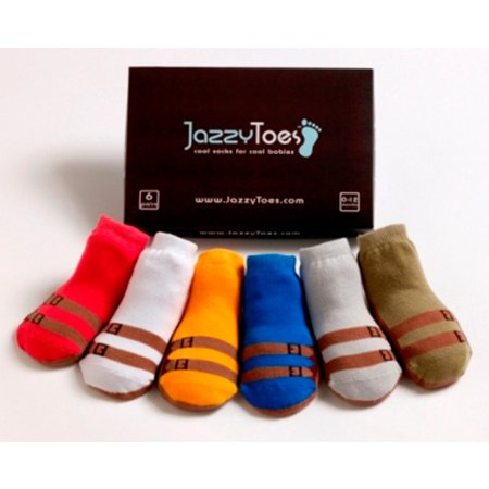 Jazzy Toes Sandals For Boys Socks