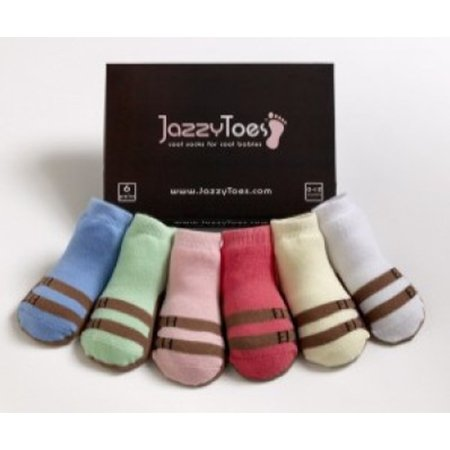 Jazzy Toes Sandals For Girls Socks
