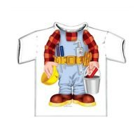Just Add A Kid Builder Boy T Shirt