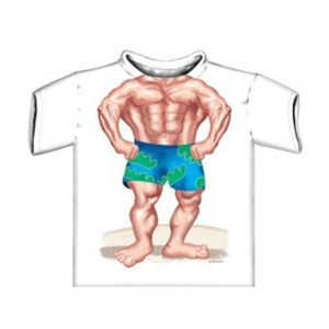 Just Add A Kid Muscle Boy T Shirt