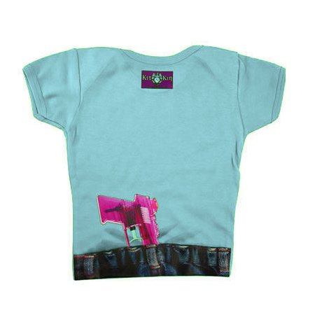 Kit N Kin Water Pistol Blue T Shirt
