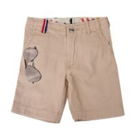 Mini Shatsu Beige Sunglasses Shorts
