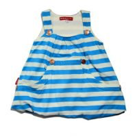 Oh Baby London Blue Stripey Dress