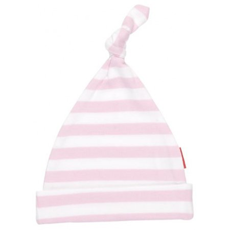 Oh Baby London Been Inside Pink And White Stripe Hat