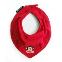 Paul Frank Red Julius Organic Dry Bib