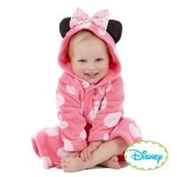 Playama Minnie mouse bathrobe