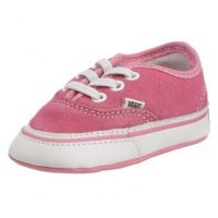 Vans Pink Suede Pre Walker Lace Up Style