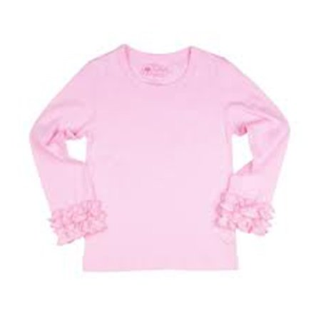 Rufflebutts Pink Long Sleeve Top