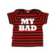 Oh Baby London Striped My Bad T Shirt