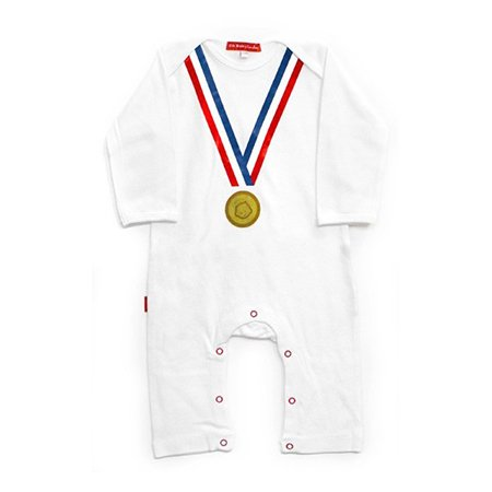 Oh Baby London Olympic Medal Playsuit