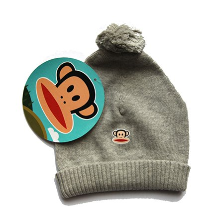 Paul Frank grey bobble hat