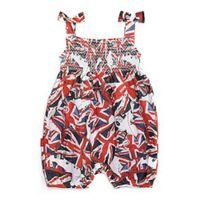 Oh Baby London Union jack Romper