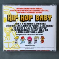HIP HOP BABY BACK COVER